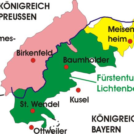 Baumholder, Furstentum Lichtenberg, Germany
