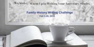 Family History Writing Challenge (FHWC) 2018