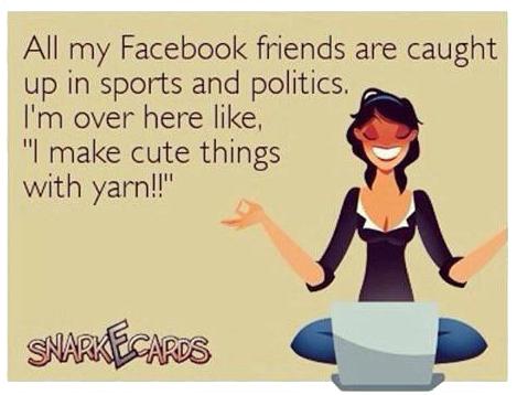 Friends Facebook I Yarn