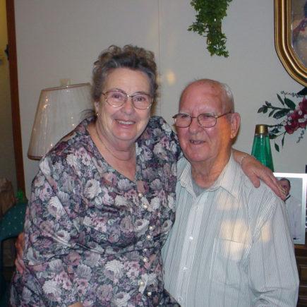 Grandma and Grandpa Randolph