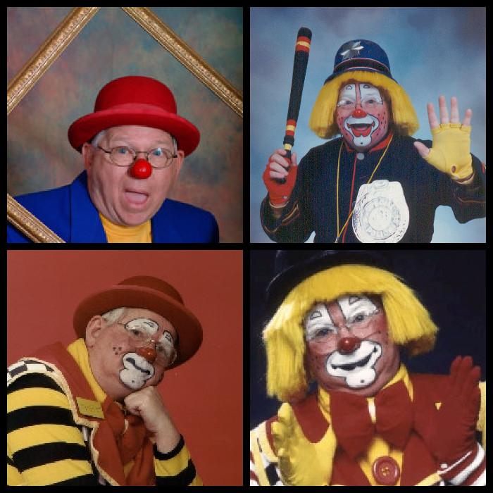 Four faces of Tom E. Boy
