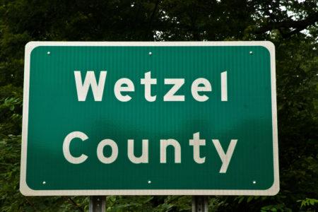 Wetzel County, West Virginia, USA.